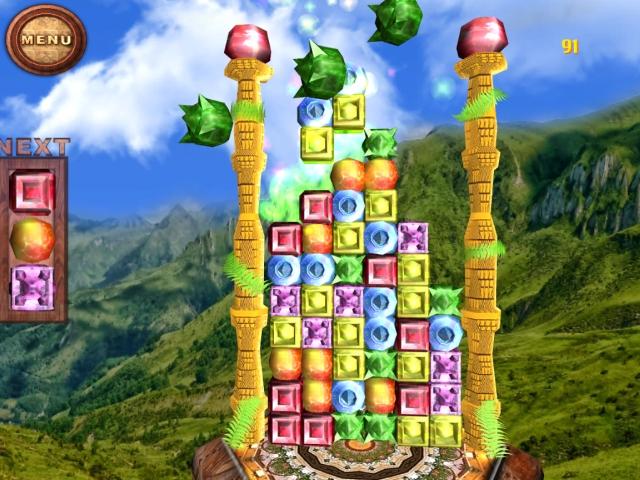 Shining Cubes screenshot